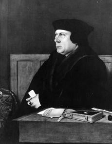 A painting of Thomas Cromwell circa 1530.